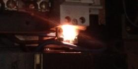 Brandgevaar in meterkast