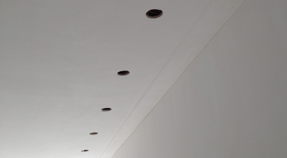 Plafond dicht